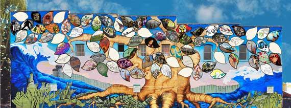 Olympia-Rafah Mural (in process)