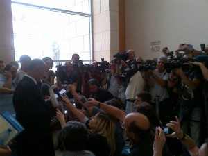 Attorney Hussein abu Hussein responds to verdict in Haifa court.