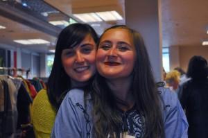 Interns, Maya Harris & Elizabeth Moore at the 2012 Arab Festival