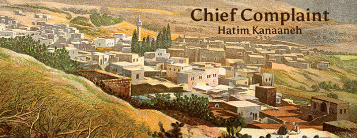 "May 21 Hatim Kanaaneh author of ""Chief Complaint"" in Olympia, WA"