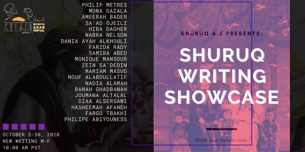 Writing Showcase Poster